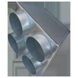 ( laser 6 ) skrzynka rozdzielcza 150/4x125