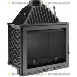 Wkład kominkowy KRATKI AMELIA 25 kW LUX - kominek KRATKI