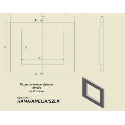( laser 1 ) rama portalowa AMELIA szlifowana