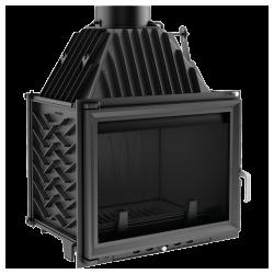 Wkład kominkowy KRATKI ZUZIA 700 16 kW - kominek KRATKI