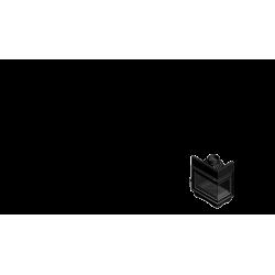 Wkład kominkowy KRATKI MAJA 8 kW prawy BS (szyby łączone bez szprosa) - kominek KRATKI
