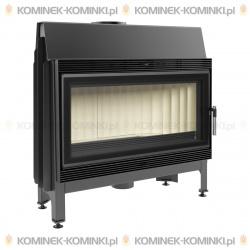 Wkład kominkowy KRATKI BLANKA 910 14 kW GLASS - kominek KRATKI