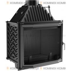 Wkład kominkowy KRATKI AMELIA 25 kW pryzmatyczny - kominek KRATKI