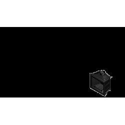 Wkład kominkowy KRATKI FELIX 16 kW DECO - kominek KRATKI