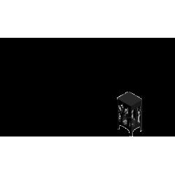 Biokominek KRATKI FOXTROT czarny LED TÜV - biokominki KRATKI FOXTROT