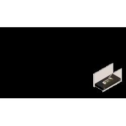 Biokominek KRATKI HOTEL biały TÜV - biokominki KRATKI HOTEL
