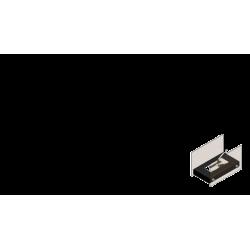 Biokominek KRATKI HOTEL MINI biały TÜV - biokominki KRATKI HOTEL MINI