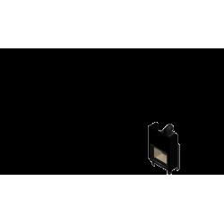 Wkład kominkowy KRATKI MBA 17 kW gilotyna - kominek KRATKI