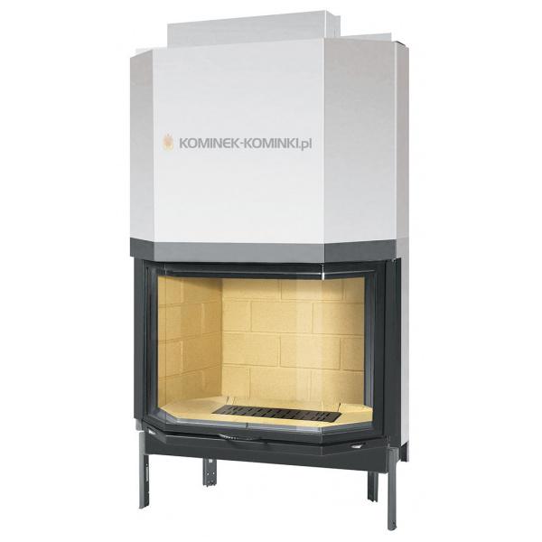 Kominek Supra - wkład kominkowy 11kW Supra Cristal 431 B N