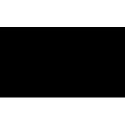 piec wolnostojący Koza AB STAL 2 z wylotem spalin fi 150 z panelami kaflowymi - CZARNY