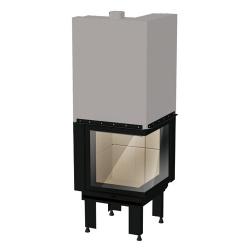 Wkład kominkowy REGAL FIRE Corner L/R 60x60 - kominek REGAL FIRE