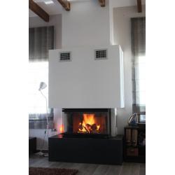Wkład kominkowy REGAL FIRE Pi 80 - kominek REGAL FIRE