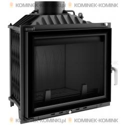 Wkład kominkowy KRATKI ANTEK 10 kW GLASS + dolot - kominek KRATKI