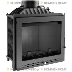 Wkład kominkowy KRATKI ANTEK 10 kW LUX + dolot - kominek KRATKI