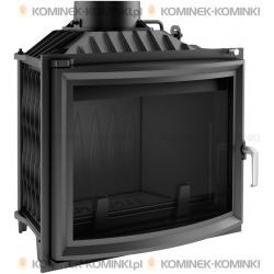 Wkład kominkowy KRATKI ANTEK 10 kW pryzmatyczny + dolot - kominek KRATKI