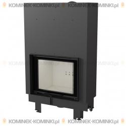 Wkład kominkowy KRATKI MBO 15 kW gilotyna - kominek KRATKI
