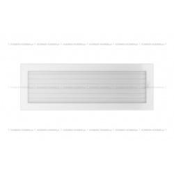kratka 17/49 biała z żaluzją