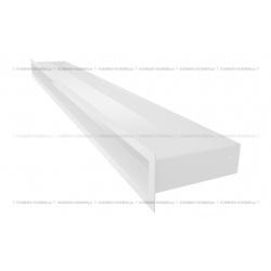 kratka wentylacyjna luft 60x1000 mm - kolor biały