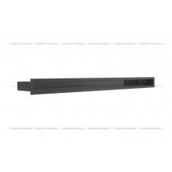 kratka wentylacyjna luft 60x1000 mm - kolor czarny SF
