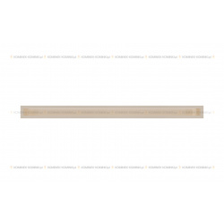 kratka wentylacyjna luft 60x1000 mm - kolor kremowy