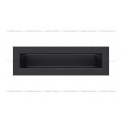 kratka wentylacyjna luft 60x200 mm - kolor czarny