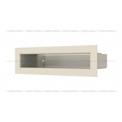 kratka wentylacyjna luft 60x200 mm - kolor krem SF