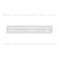 kratka wentylacyjna luft 60x400 mm - kolor biały SF