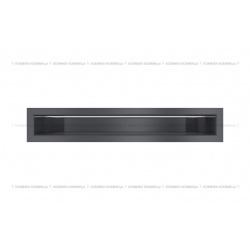kratka wentylacyjna luft 60x400 mm - kolor grafitowy