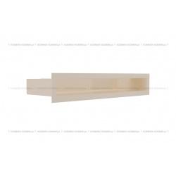 kratka wentylacyjna luft 60x400 mm - kolor kremowy SF