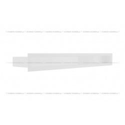 kratka wentylacyjna luft 60x600 mm - kolor biały SF