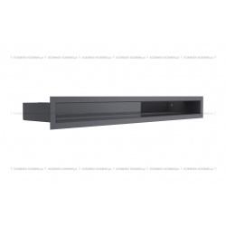 kratka wentylacyjna luft 60x600 mm - kolor grafitowy SF