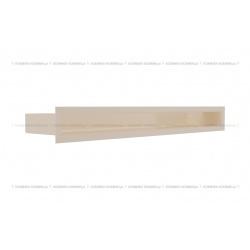 kratka wentylacyjna luft 60x600 mm - kolor kremowy