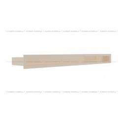 kratka wentylacyjna luft 60x800 mm - kolor kremowy