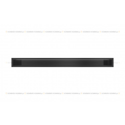 kratka wentylacyjna luft 90x1000 mm - kolor czarny