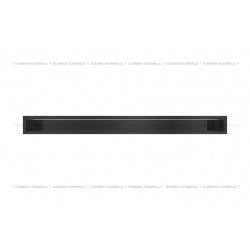 kratka wentylacyjna luft 90x1000 mm - kolor czarny SF
