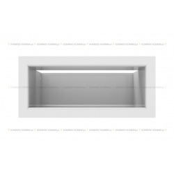 kratka wentylacyjna luft 90x200 mm - kolor biały