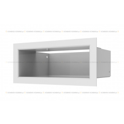 kratka wentylacyjna luft 90x200 mm - kolor biały SF