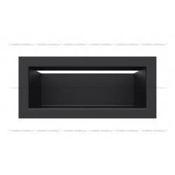 kratka wentylacyjna luft 90x200 mm - kolor czarny