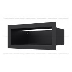 kratka wentylacyjna luft 90x200 mm - kolor czarny SF