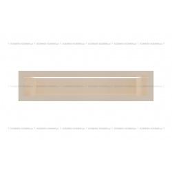 kratka wentylacyjna luft 90x400 mm - kolor kremowy