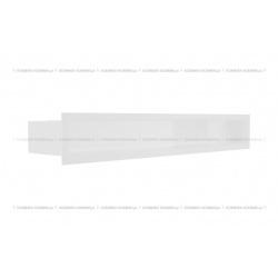 kratka wentylacyjna luft 90x600 mm - kolor biały