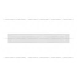 kratka wentylacyjna luft 90x600 mm - kolor biały SF