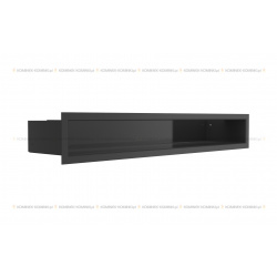 kratka wentylacyjna luft 90x600 mm - kolor czarny