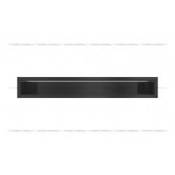 kratka wentylacyjna luft 90x600 mm - kolor czarny SF