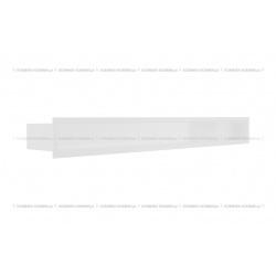 kratka wentylacyjna luft 90x800 mm - kolor biały