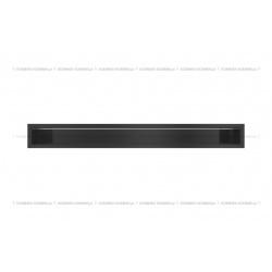 kratka wentylacyjna luft 90x800 mm - kolor czarny