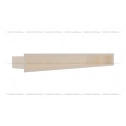 kratka wentylacyjna luft 90x800 mm - kolor kremowy