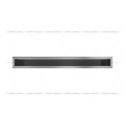kratka wentylacyjna luft 90x800 mm - szlifowany