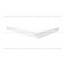 kratka wentylacyjna luft narożny standard 766x547x60 lewy bialy
