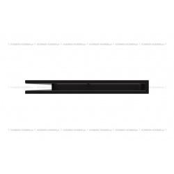 kratka wentylacyjna luft narożny standard 766x547x60 lewy czarny